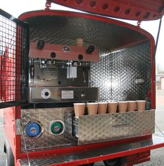 Piaggio Ape Coffee Van Coffee Latino