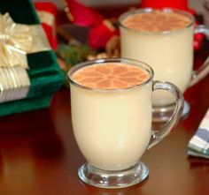 Egg Nog & other traditional holiday drinks!