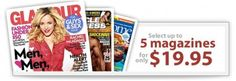 Readers Choice: Five Magazine Subscriptions, Only $19.95 for All Five!
