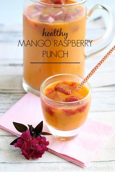 Healthy and Easy Mango Punch