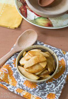 The Best Slow Cooker Cinnamon Apples