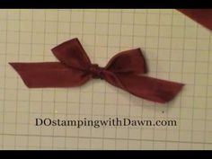 #bunnyearbow, #dostamping, #stampinup, #howdshedothat