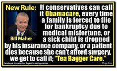 Bill Maher on Obamacare