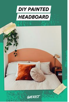 Learn how to make the painted headboard of your dreams!