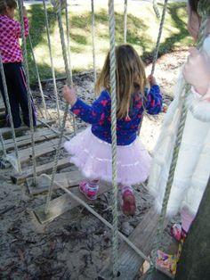 10 backyard balancing activities - happy hooligans - outdoor play ideas