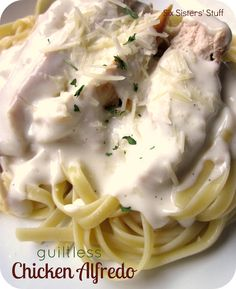 Guiltless Chicken Alfredo Recipe