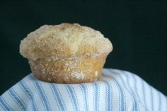 French Breakfast Puffs - a delicious muffin coated in butter and rolled in cinnamon sugar. Pioneer Woman