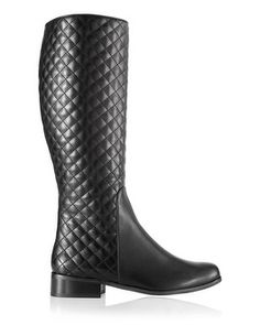 Chico's Rewa Quilted Nappa Knee Boot #chicos