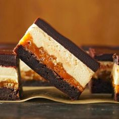 Four-Layer Caramel Crunch Brownies