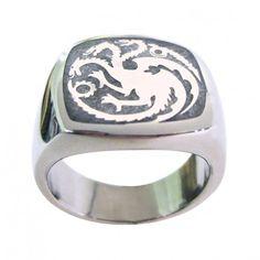 Game of Thrones Targaryen Ring