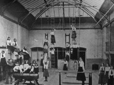The Edwardian School Gym •