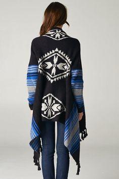 Sabrina Sweater in Blue Hues