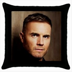 GARY BARLOW TAKE THAT Black Cushion Cover Throw Pillow Case  http://stores.shop.ebay.co.uk/giftbazaar