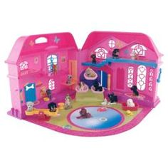 "Puppy In My Pocket ""Puppy Dreamhouse"" playset (U.K.)"