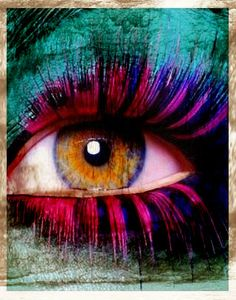 colour, graphic, mystical eyes, colors, eye associ, behold eye, beauti, paint, eye art