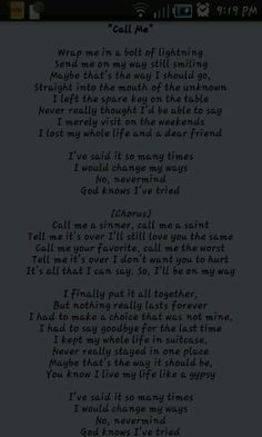 "#shinedown ""Call Me"" lyrics <3 My most favorite Shinedown song"