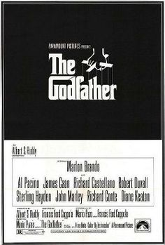 """The Godfather : 1972 - The movie I saw with my Mom at home...#5 :  My mom loves """"mafia"""" movie both in East and West.."""