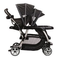 Double stroller possibility? Graco Ready To Grow Stand and Ride Duo Stroller - Metropolis- the click connect version