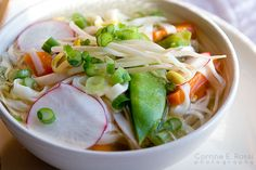 Spring Roll Soup