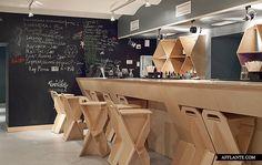 Cafe Artek in St. Petersburg // Dopludo Collective & Konstantin Grcic   Afflante.com