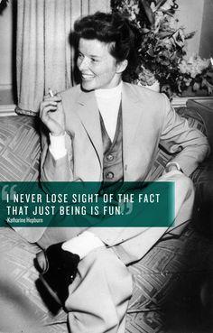 One of my favorite pictures of Hepburn