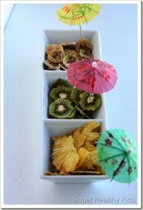 Dried Kiwi, Pineapple and Bananas | Recipes