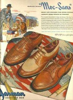 1940 men's shoes.