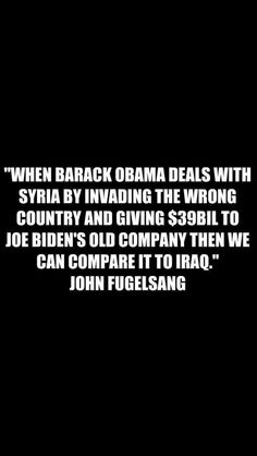 well said John!