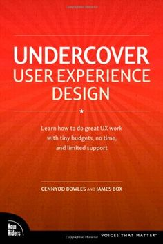 Undercover User Experience Design (Voices That Matter) by Cennydd Bowles http://www.amazon.com/dp/0321719905/ref=cm_sw_r_pi_dp_IeJtub1SJHKMR