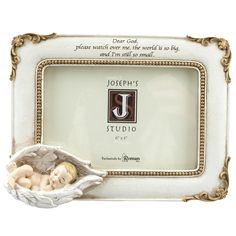 "Baby in Angel Wing Photo Frame - Joseph's Studio,  $26.95. Customer review: ""I gave one to my Daughter as a surprise gift for the Baby's Room. She is having 1st Baby in August. I also purchased one for myself to display Our New Grandchild's Photo in."""