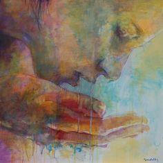 Traspare la luce dell'acqua nelle mani by Ademaro Bardelli