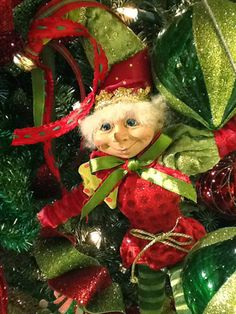 Back by Popular Demand! RAZ Elves - Merry Mistletoe Collection....coming to www.trendytree.com