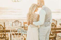 marissa + brian   Cypress Gown by @tadashishoji from BHLDN   via: green wedding shoes   #BHLDNbride