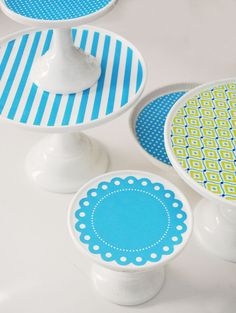 Make Cake Plate Clings With Your Cricut Explore