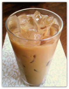 Coffee + Sweetened Condensed Milk=DELICIOUS (hot or cold)