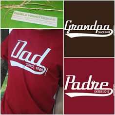 Father's Day 2013 #Rafflecopter #Giveaway | Adventures as a Small Town Mom    Win a Pamela Fugate Designs Dad Since T-shirt! Ends 5/13/13 US Residents Only