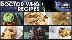 Doctor Who recipes from BBC.