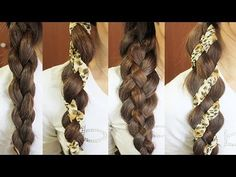 ♥ Learn more hair tutorials here: http://www.youtube.com/playlist?list=PLD4D5DE6CCCF00AF4    *Don't forget to like ^_^ And Favorite so you can come back to it later!    ♥ Pictures on my blog: http://justbebexo.com/hairstyles/117-4-strand-scarf-braid    One of fall's hottest trends? Leopard print! In this video I'm going to show you how to do two types...