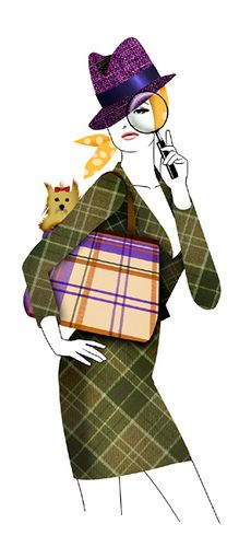 GLAMOUR MAGAZINE GERMANY -  TIME FOR INTUITION by LUIS TINOCO - ILLUSTRATOR, via Flickr