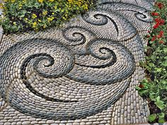 swirling stones
