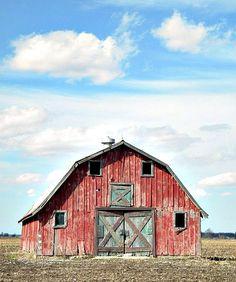 classic barn, red barns, old barns