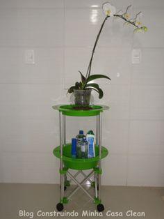 Construindo Minha Casa Clean: Meu Carrinho de Limpeza Abrilhantando a Lavanderia!