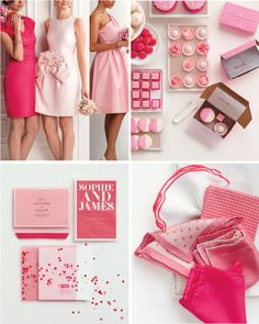 Pretty in pink! We love these rose-colored wedding ideas