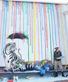 Street Art By Michael Summers - Carlsbad (CA) via @Jon Kaplan
