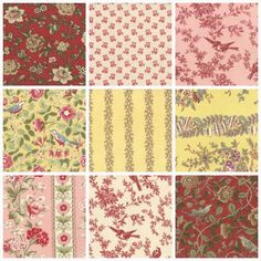 French Country Fabric Collections Pom Pom De Paris The