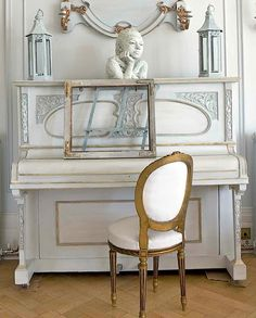 love these painted pianos