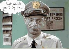 Barney Fife, The Andy Griffith Show