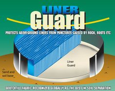 8 Reasons you may want to get a Liner Guard installed under your new above ground pool liner.