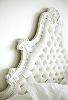 tufted headboard love this one