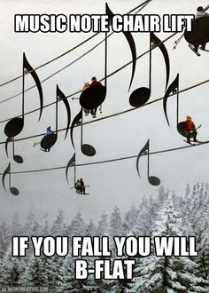 I love music humor....